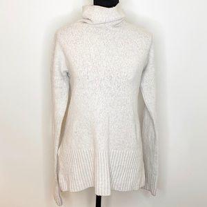 Lou & Grey    Cozy Cream Turtleneck Sweater